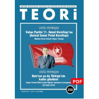 Vatan Partisi 11. Genel Kurultayı'na (Amiral Soner Polat Kurultayı) Merkez Karar Kurulu Rapor Taslağı