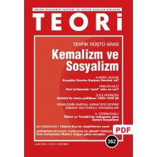 Kemalizm ve Sosyalizm