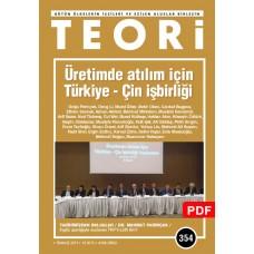 Üretimde Atılım İçin Türkiye - Çin İşbirliği