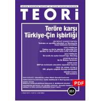 Teröre Karşı Türkiye- Çin İşbirliği